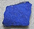 Lapis lazuli (lazuritic metamorphite) (Sar-e-Sang Deposit, Sakhi Formation, Precambrian, 2.4-2.7 Ga (?); Sar-e-Sang Mining District, Hindu-Kush Mountains, Afghanistan) 7 (40672924053).jpg