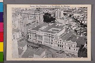 Largo São Francisco e a Faculdade de Direito
