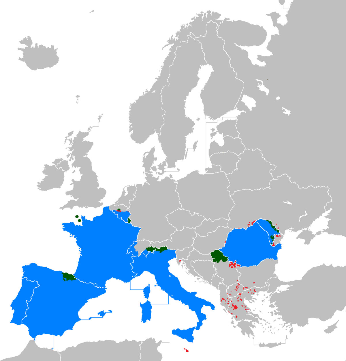 Romancespeaking Europe  Wikipedia