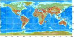 Latrodectus map.png