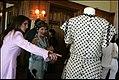 Laura Bush observing dress of Eva Perón.jpg