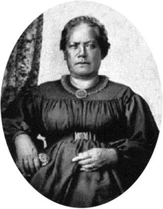 Kōnia - Kōnia in later life, late 1850s