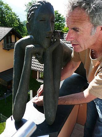 Rowan Gillespie - Rowan Gillespie, on site in Liechtenstein, June 2008