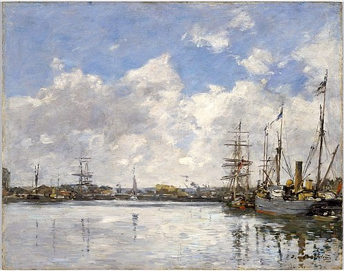 Le Havre, The Port (1884), Brooklyn Museum Le Havre, The Port Eugene Louis Boudin 1884.jpg