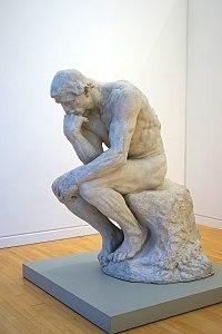 Le Penseur d'A. Rodin (MAMC, Strasbourg) (28827497580).jpg