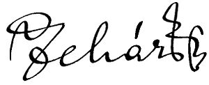 Franz Lehár - Image: Lehar Franz Autogramm musica 1937 H12