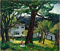 Leon Kroll - Summer Days, Camden Maine (1916).jpg