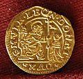 Leonardo donà, mezzo ducato d'oro, 1606-12.jpg