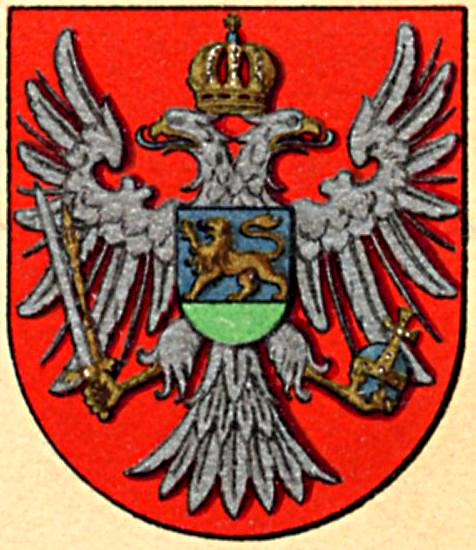 Lesser Royal Coat of Arms of the Principality of Montenegro
