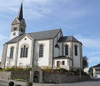 Leudelange - The church of Leudelange