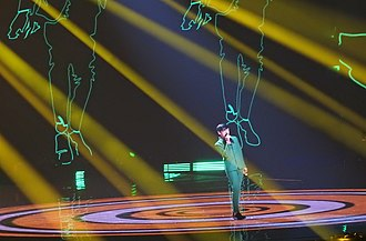 Armenia in the Junior Eurovision Song Contest 2018 - Image: Levon Galstjan at JESC 2018