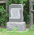 Lewis Dowse homestead monument.JPG