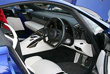 lexus lfa white interior. righthand drive twoseat lfa interior lexus lfa white 2