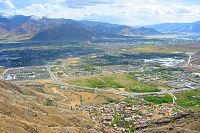 Lhasa is located in the Lhasa Valley of Tibet.