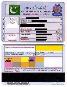 International Driving License Pakistan