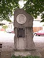 Libice nad Doubravou - památník Jana Husa.JPG