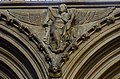 Lincoln Cathedral, Angel with scroll. (31452319193).jpg