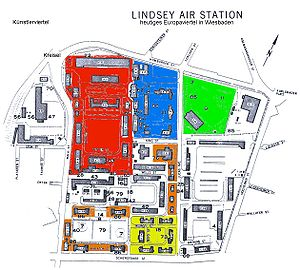Europaviertel (Wiesbaden) - Lindsey Air Station Color