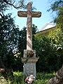 Listed Angyal-Czenczi wayside crucifix on a former Babits family estate, 2016 Szekszard.jpg