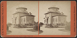Litchfield observatory, Hamilton College, Clinton, N.Y, by Walker, L. E., 1826-1916.jpg