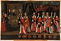 Livre X des annales (1684-1713). Les capitouls de l'année 1700-1701 et l'entrée des ducs de Bourgogne et de Berri.jpg