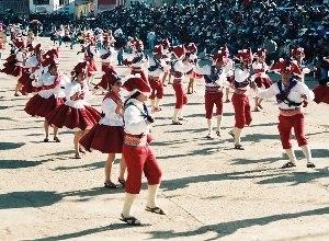 Carnaval de Oruro - Llamerada Dancers in the Carnival