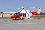 Lloyd Off-Shore Helicopters (VH-SYZ) AgustaWestland AW139 taxiing at Wagga Wagga Airport (7).jpg