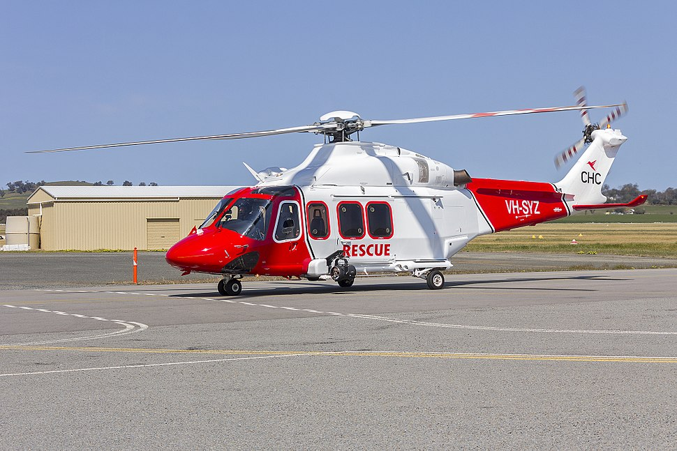 Lloyd Off-Shore Helicopters (VH-SYZ) AgustaWestland AW139 taxiing at Wagga Wagga Airport (7)