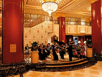 China World Hotel, Beijing - Image: Lobby Sunday Orchestra Concert