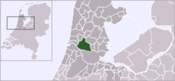 Location of Koog aan de Zaan