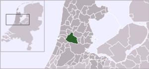 Wormerveer - Image: Locatie Zaanstad