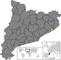 Location of Lloret de Mar.png