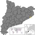 Location of Tossa de Mar.png