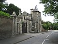Lodge and gate piers to Stanmore Hall, Stanmore-geograph-2453716.jpg