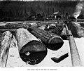Log pond, unidentified mill, Washington, 1910 (INDOCC 35).jpg