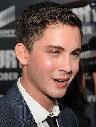 Logan Lerman - Lerman at the world premiere of Fury at the Newseum in Washington D.C..