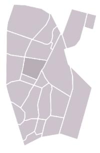 Locatie van Jutphaas-Wijkersloot binnen Nieuwegein
