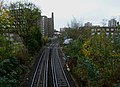London-Woolwich, railway near Morris Walk Estate.jpg