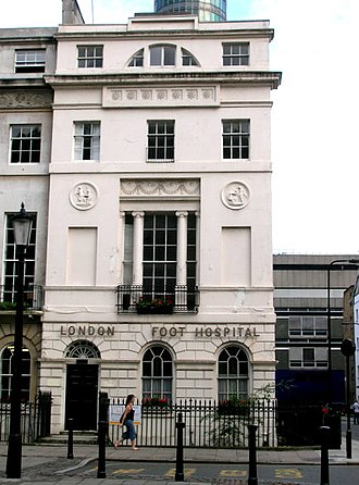 Omega Workshops - 33 Fitzroy Square, London. (from 1929 to 2003 the London Foot Hospital)