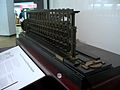 London Science Museum by Marcin Wichary - The world's first working Difference Engine, pt. 2 (2289233505).jpg