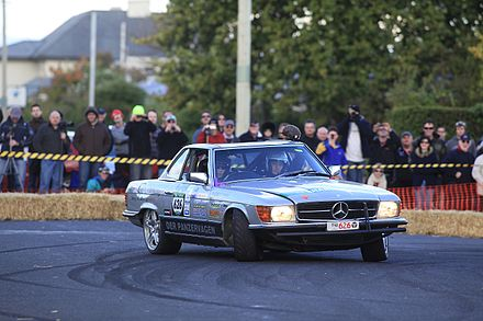 """Der Panzerwagen"" at the 2010 Targa Tasmania Longford extreme slide 2.jpg"