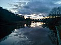 Looking out from Dutton Locks - panoramio.jpg