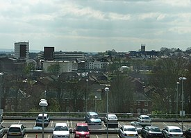 Looking south from the Aldershot Centre for Health - geograph.org.uk - 1292719.jpg
