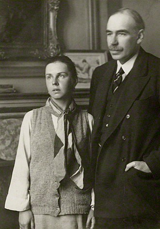 Lydia Lopokova - Lopokova with Keynes in the 1920s