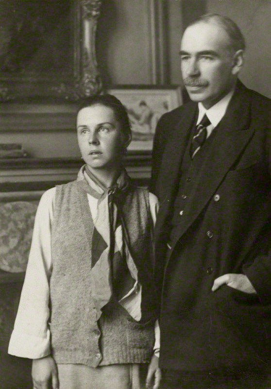 Lopokova and Keynes 1920s