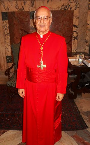 Lorenzo Baldisseri - Image: Lorenzo Cardinal Baldisseri