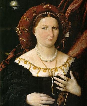 Portrait de Lucina Brembati