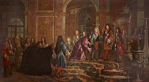 Versailles, vie de cour dans la galerie des glaces