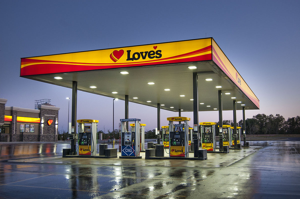 Diesel Gas Stations Near Me >> Love S Travel Stops Country Stores Wikipedia