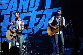 Love and Theft (duo) American country duo